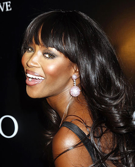 Naomi Campbell Walks Runway With Chanel Iman At Fashion For Relief