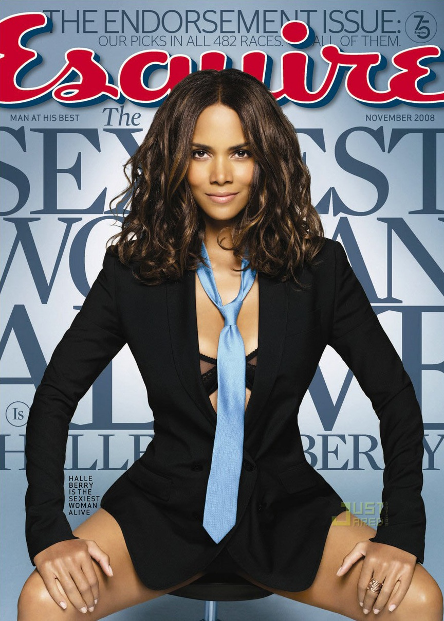 Color on the Cover: At 42, Mommy Halle Berry Named <em>Esquire</em>'s Sexiest Woman Alive