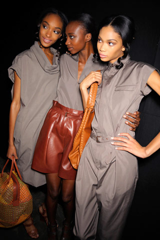 Two of Style.com's 20 Reasons to Love Fashion in 2008 Include Pretty Black Girls