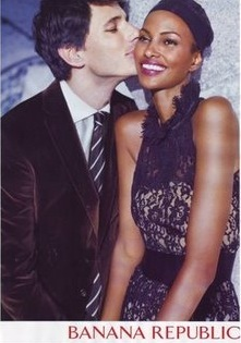 interracial black and white couple