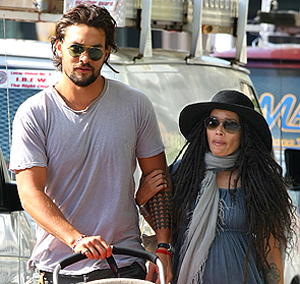 Lisa Bonet and husband