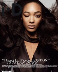 Color on the Cover: <em>i-D</em> Pays Tribute to British Models Naomi Campbell & Jourdan Dunn