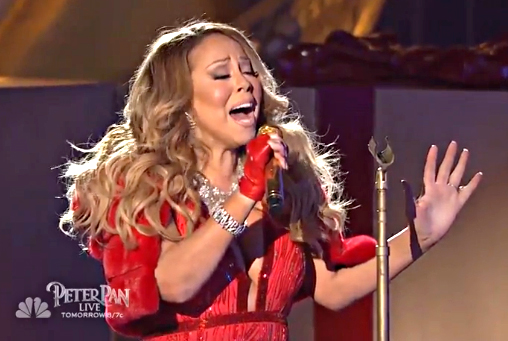 GIMME FIVE: Reasons Why Mariah Carey Was Off-Key at the Rockefeller Christmas Tree Lighting